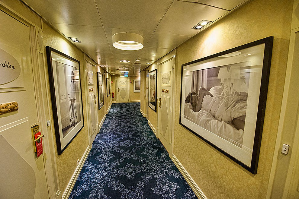 "Hallway on the ""Ladies Floor"""