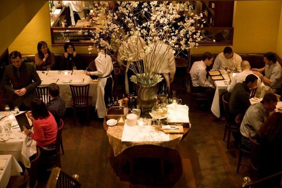 Italian Restaurant Waverly Place New York
