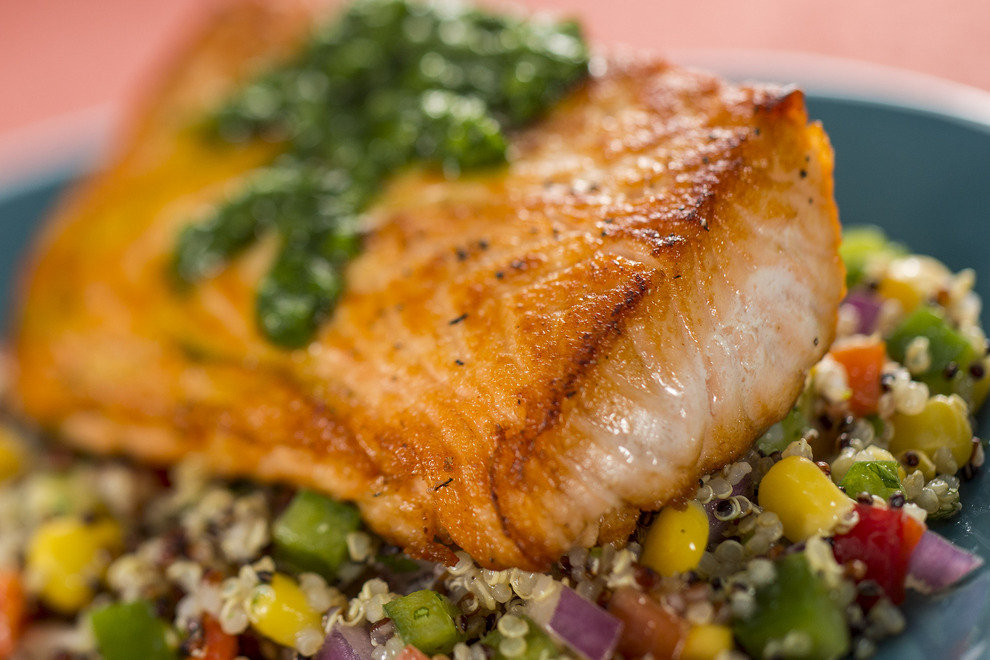 Sustainable salmon will be among the tasty offerings at the Patagonia Marketplace at this year's Epcot International Food & Wine Festival