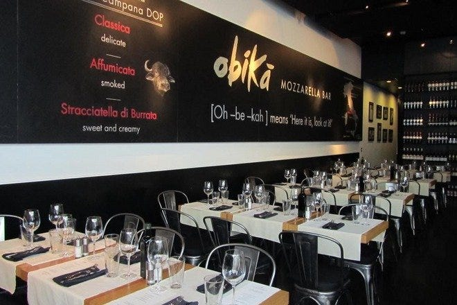 Obica Mozzarella Bar, Pizza e Cucina - Century City