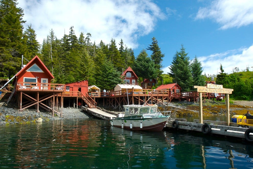Some Alaska fishing lodges are priced for families, but not many.