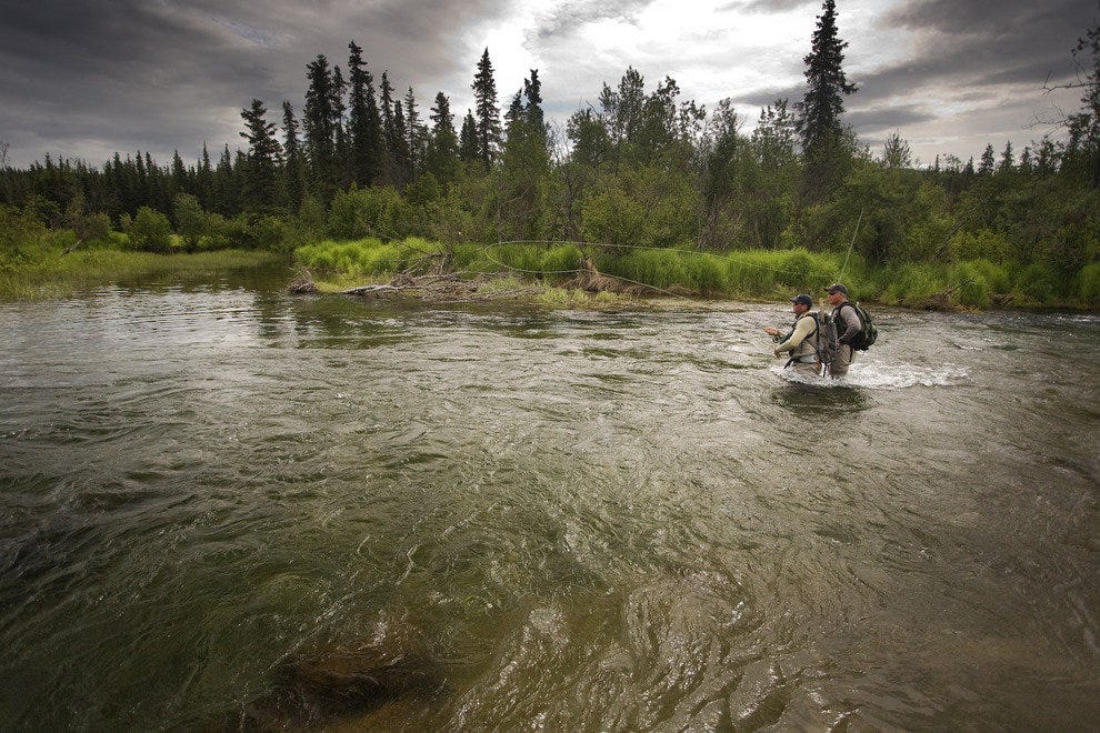 An Alaska fishing guide knows how quickly Alaska can become dangerous.