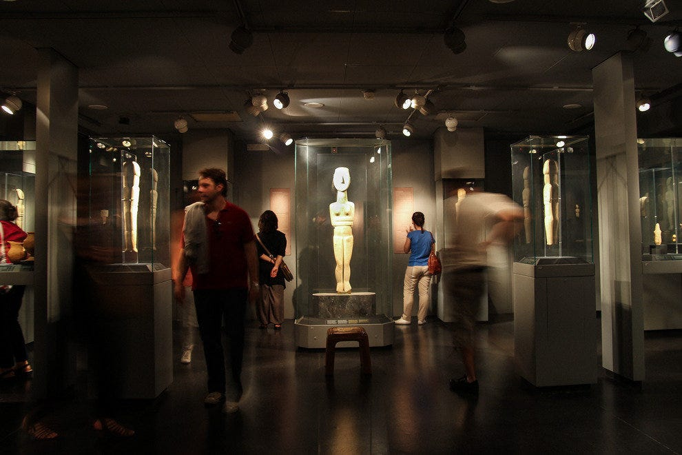 N. P. Goulandris Foundation Museum of Cycladic Art: Athens ...