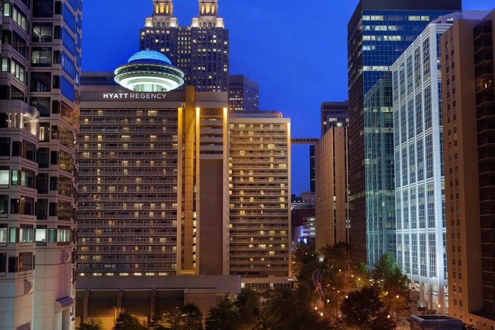 Hilton Hotel Restaurant Atlanta