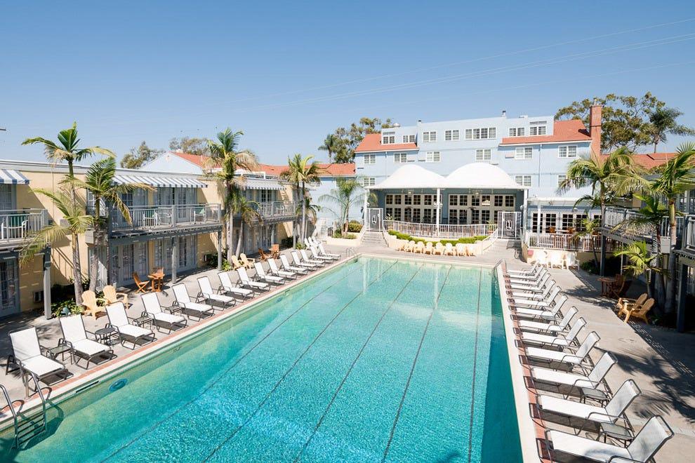 拉斐特酒店游泳俱乐部和平房