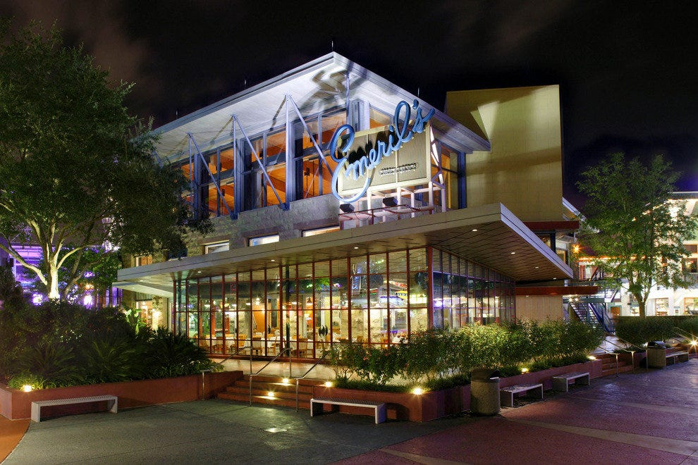Gourmands can take advantage of post-theme park Magical Dining at venues such as Emeril's, located at Universal CityWalk