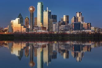 Image result for dallas skyline