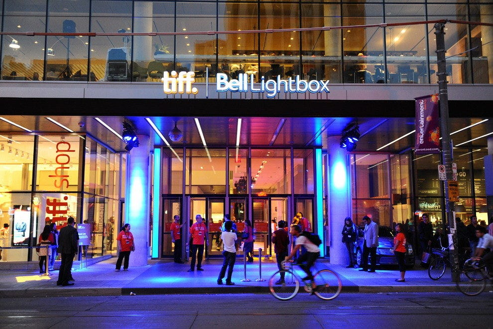 The TIFF Lightbox is the hub for the frenzy of activity