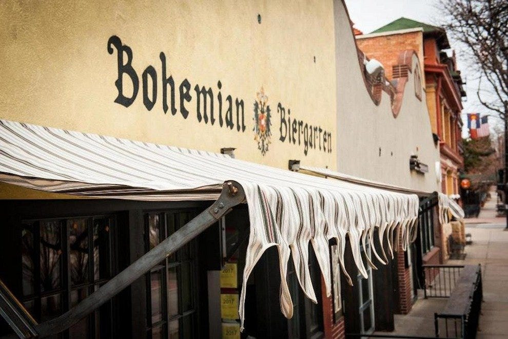 Bohemian Biergarten  welcomes you!
