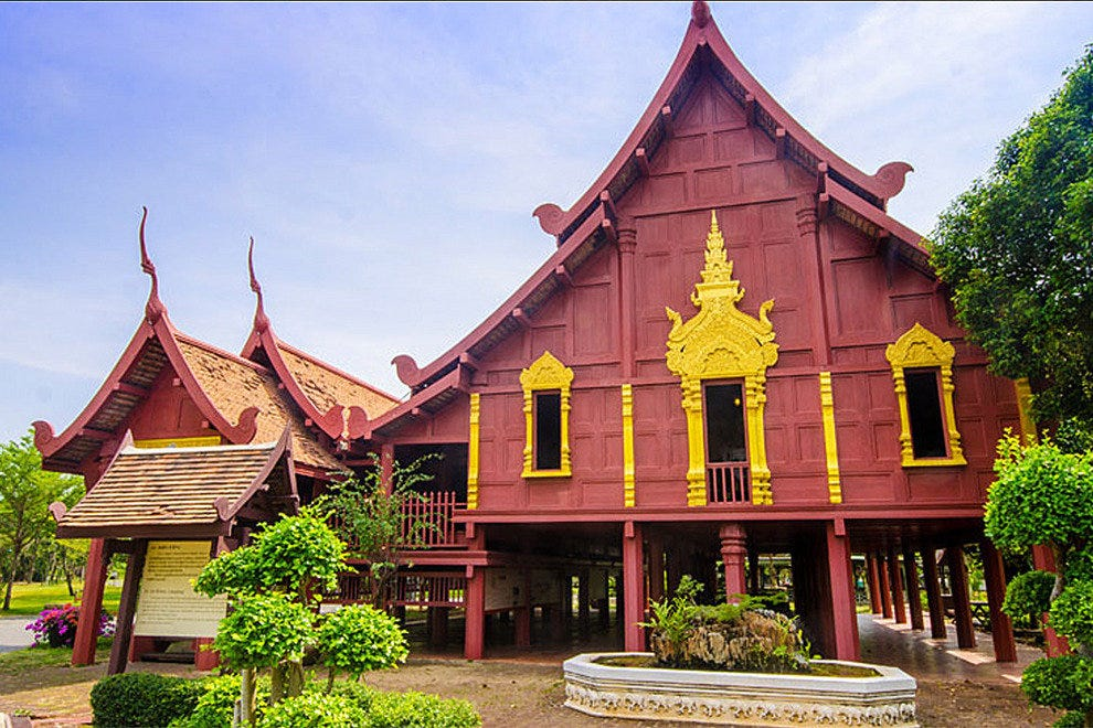 Replica of traditional Thai architecture, Muang Boran