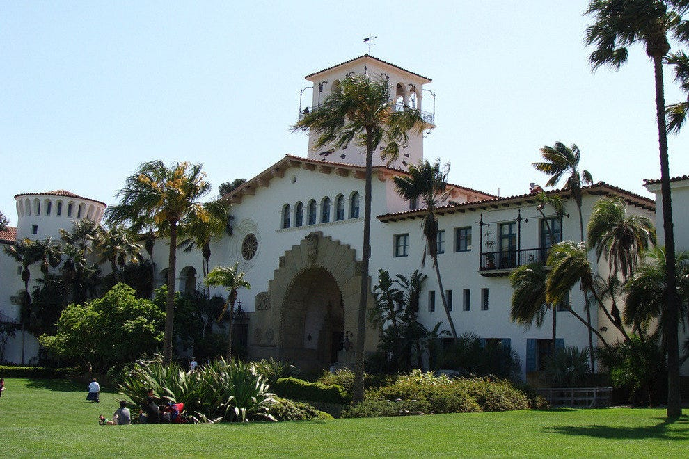 Santa Barbara Free Things to Do 10Best Attractions Reviews – Santa Barbara Tourist Map