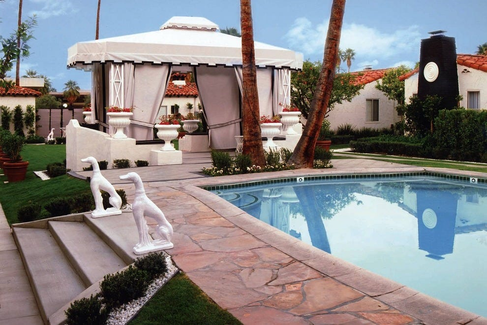 Palm springs hotels with pools enjoy summertime swimming - Best hotel swimming pools in california ...