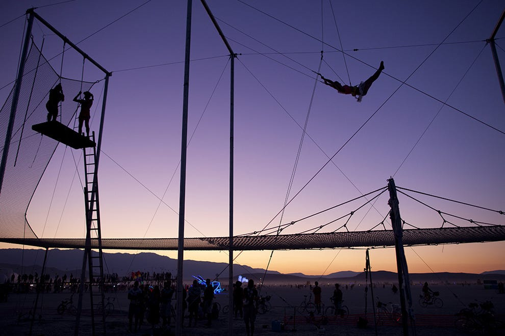 You don't need to run away to the circus to learn the trapeze