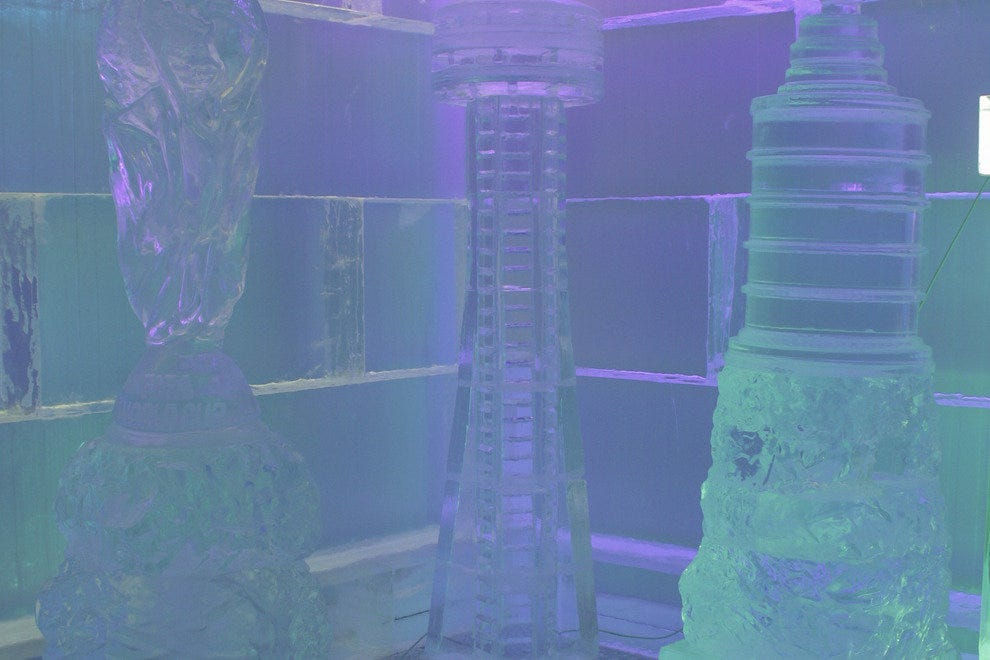 CHILL Ice House boasts ice sculptures aplenty
