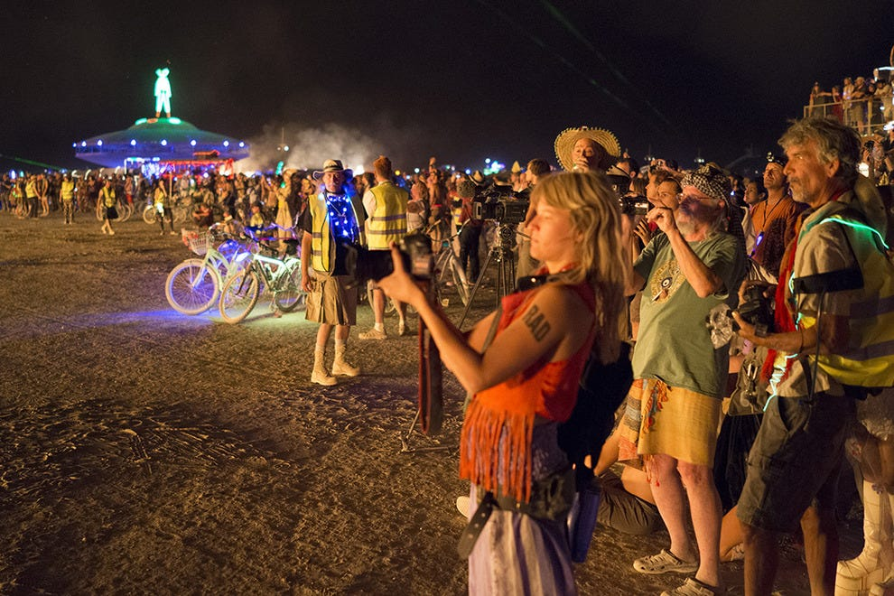 Participants at Burning Man 2013