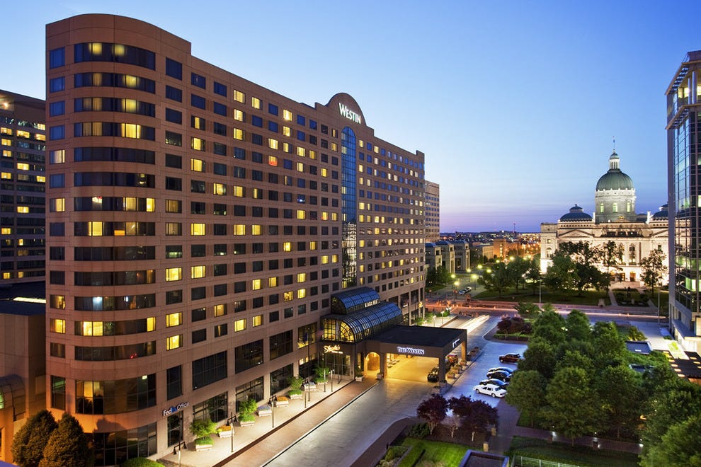 Restaurants Near The Westin Downtown Indianapolis