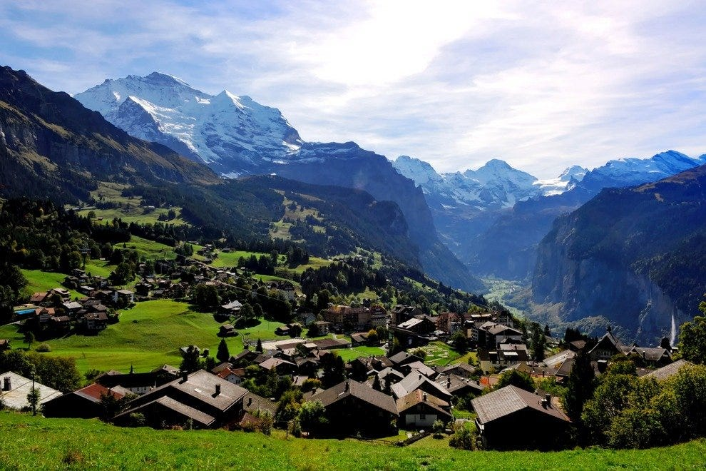 Wengen in Summer