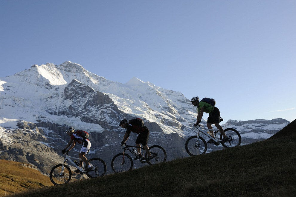 Mountain Biking in the Jungfrau Region
