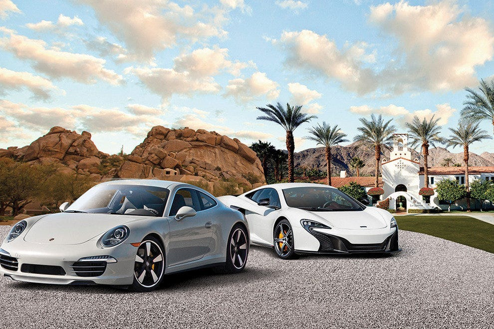 Supercars in the Waldorf Astoria Driving Experience