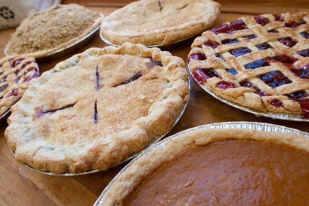 The Huckleberry's delicious pies