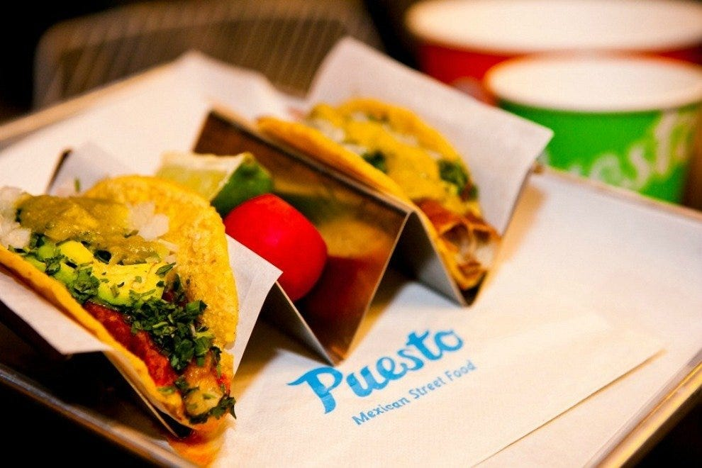 Puesto the headquarters san diego restaurants review for Eddie v s san diego