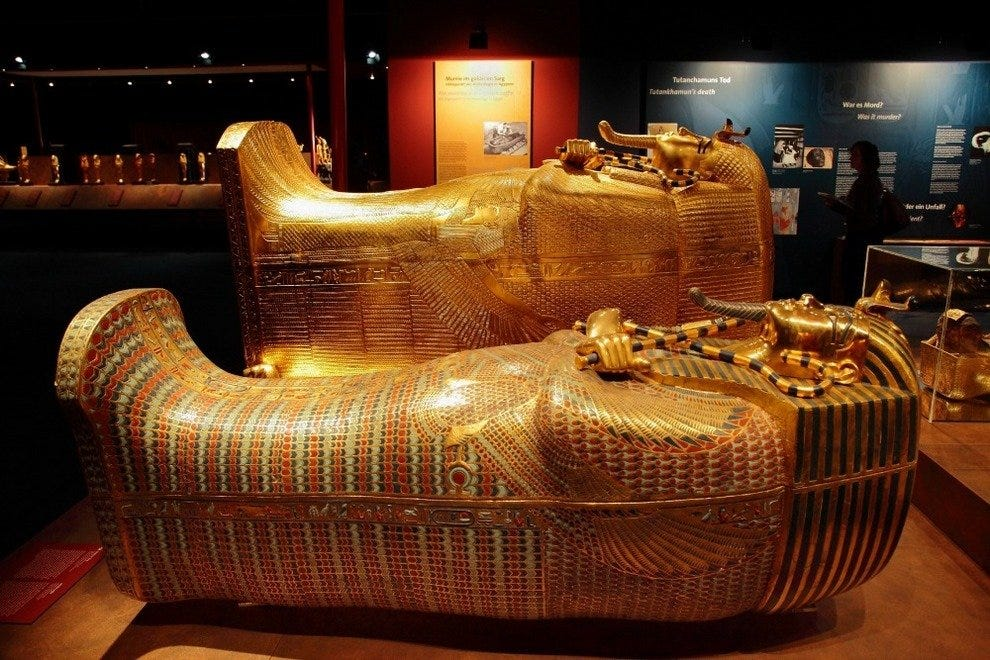 King Tut Tomb Discovery: Experience King Tut's Tomb At TheNAT In San Diego