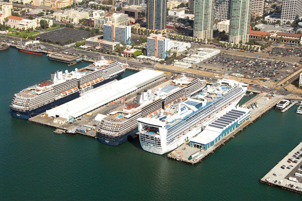Image result for san diego cruise ship port