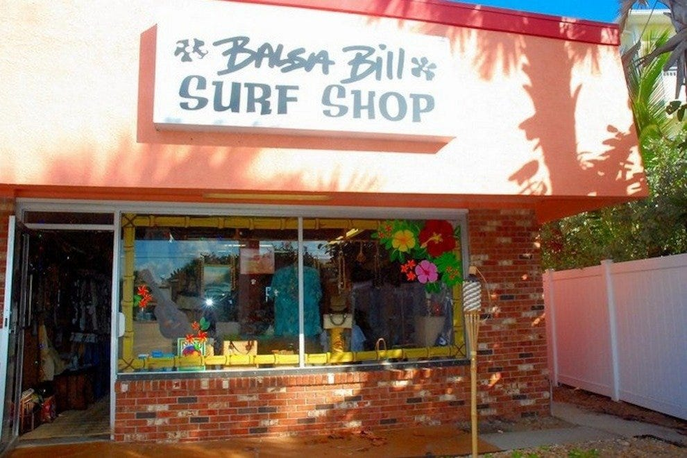 Balsa Bill Surf Shop is the real deal,run by a Hall of Fame surf legend