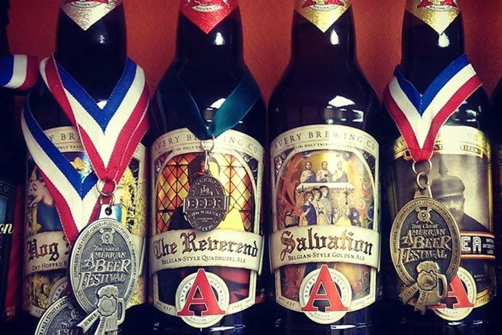 Sip on the righteous Reverend at Avery Brewing Company
