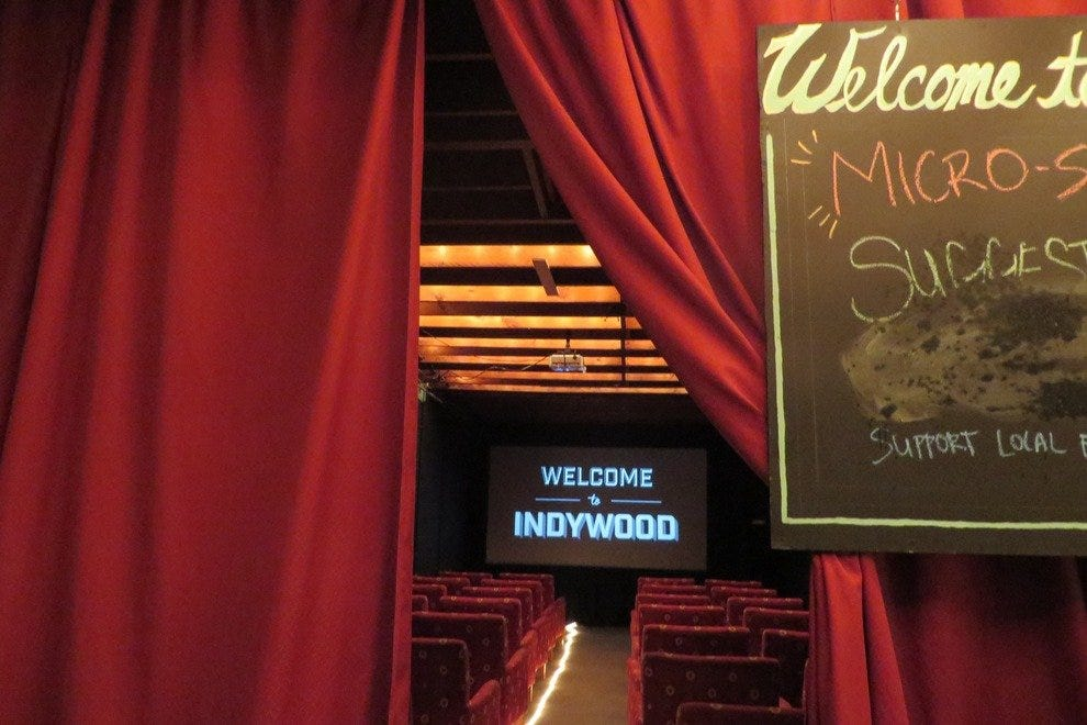 A world of indie films is behind the red curtains at Indywood