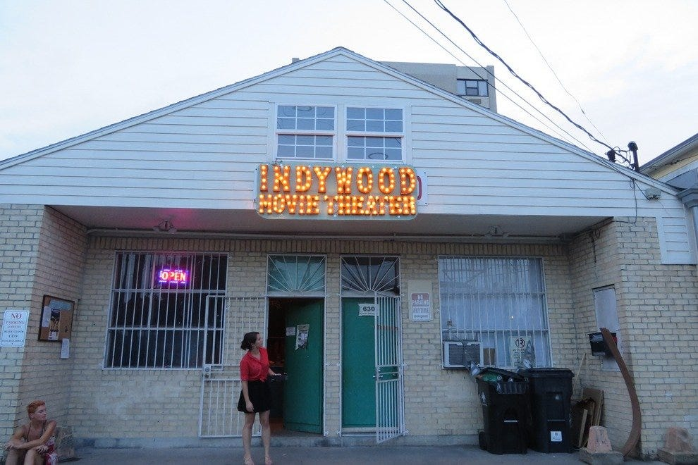 Indywood is housed in a former washateria in the Marigny