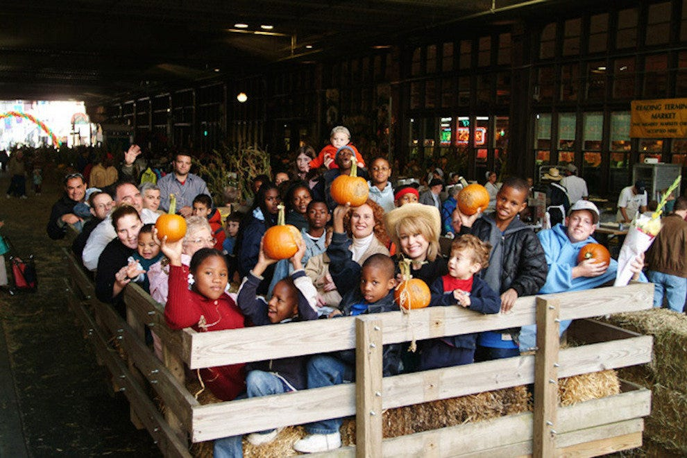 This fall festival is the perfect place for a fun, seasonal photo!