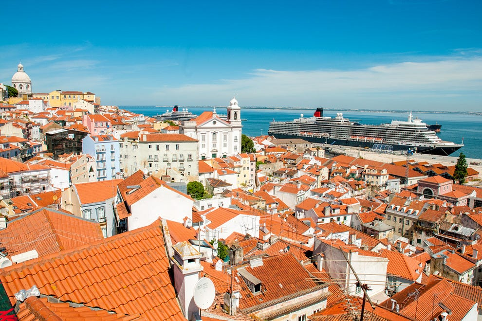 Attractions near cruise port attractions in lisbon for Best city to leave in usa