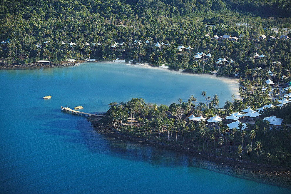 Aerial View of the Soneva Kiri Koh Kood