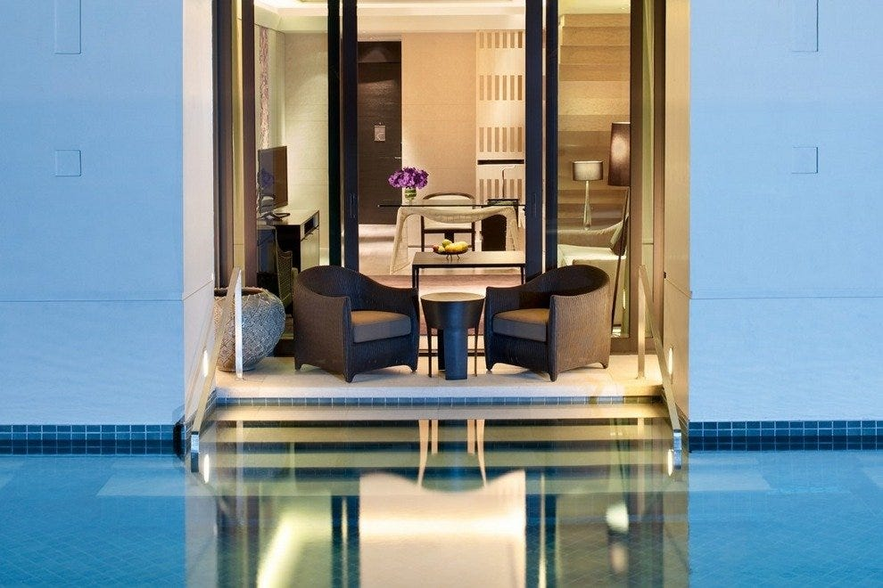 A Pool at Your Door at the Siam Kempinski