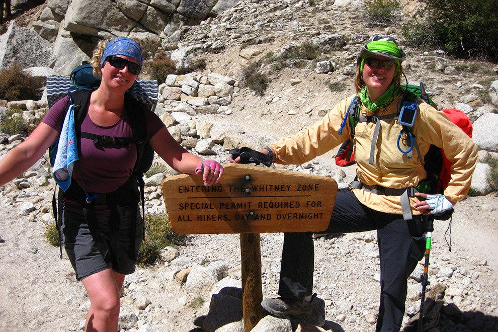 Hikers and backpackers are required to have permits on Mount Whitney.