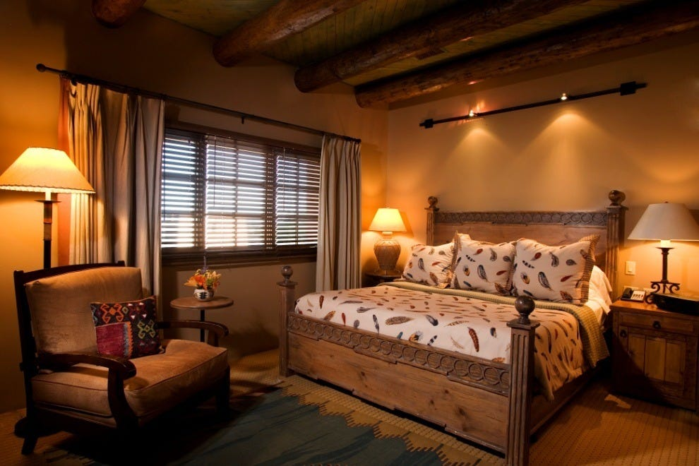 Hotel santa fe the hacienda spa santa fe hotels review for Top hotel decor