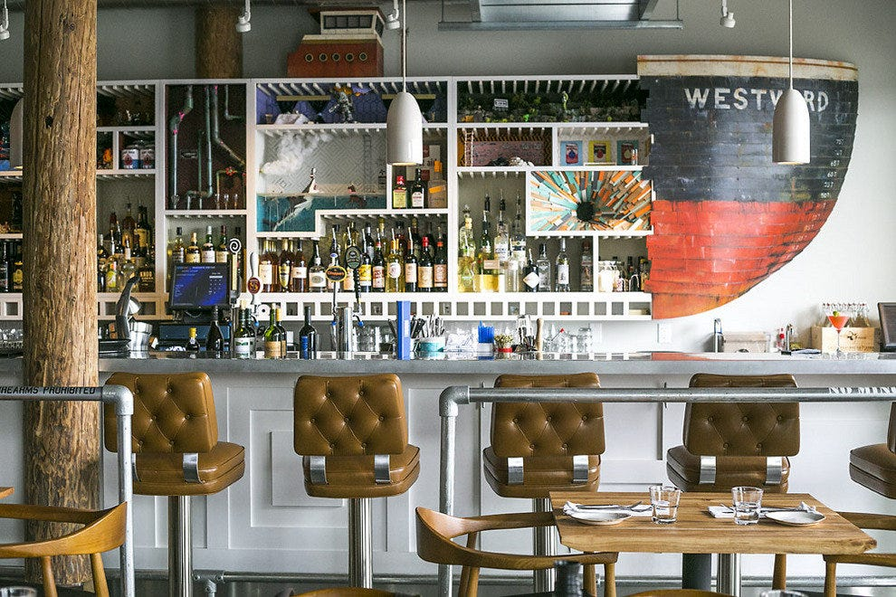 At Westward & Little Gull, a maritime theme keeps diners afloat