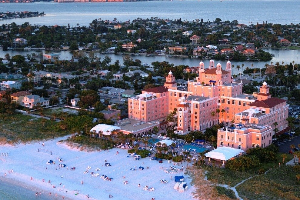 Loews Don CeSar Beach Resort in St. Pete Beach, Fla.