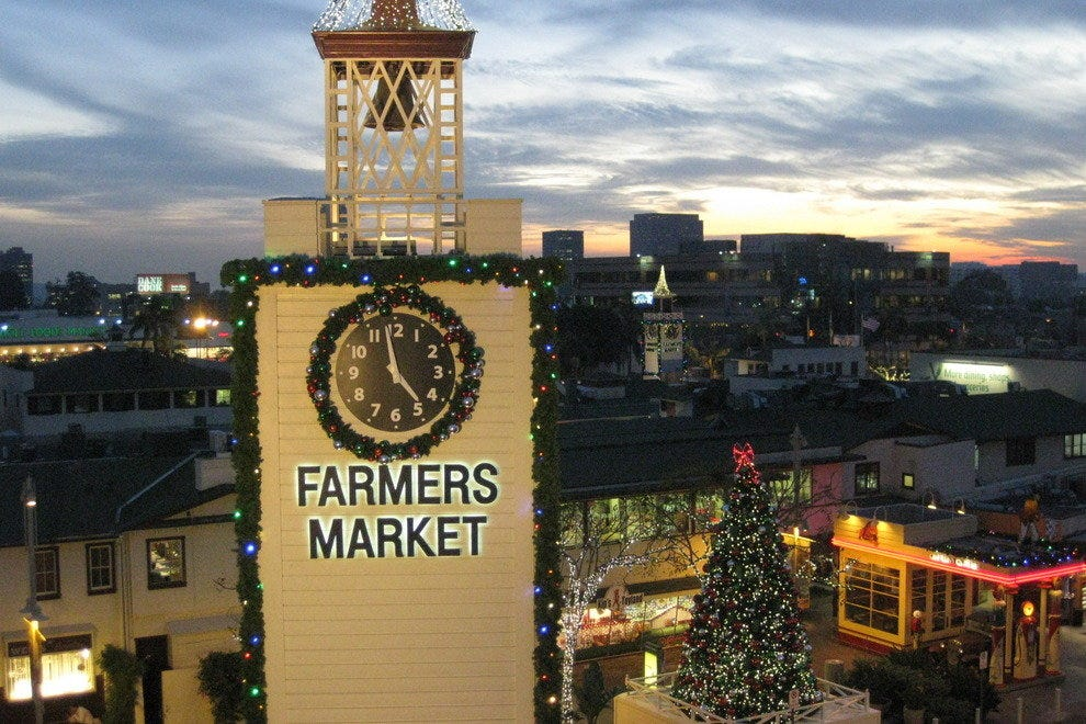 The Original Farmers Market Los Angeles Attractions Review
