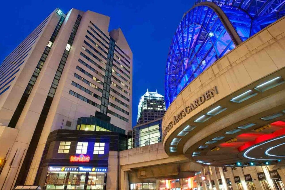 Hotels Near Indianapolis Convention Center And Lucas Oil Stadium