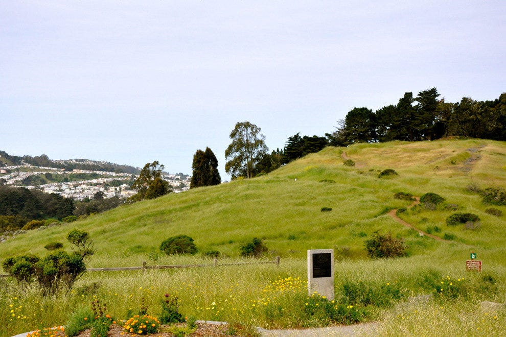McLaren Park in San Francisco, along the Philosopher's Way
