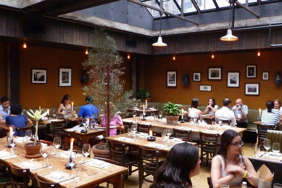 Family Style Italian Restaurants Little Italy Nyc