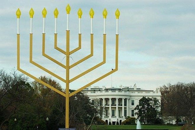 National Chanukah Menorah Lighting Ceremony