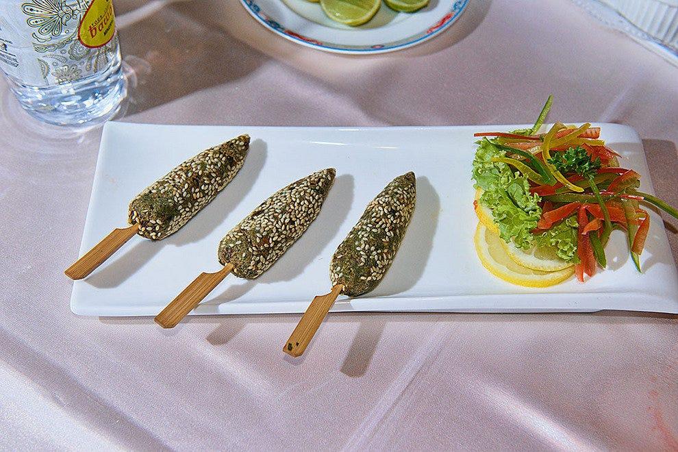 哈拉蔬菜串