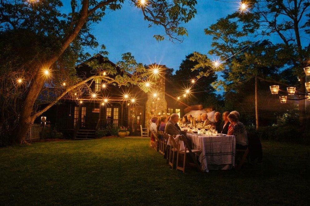 At the Inn at Serenbe, you can indulge in farm-to-table dining at on-site restaurant The Farmhouse