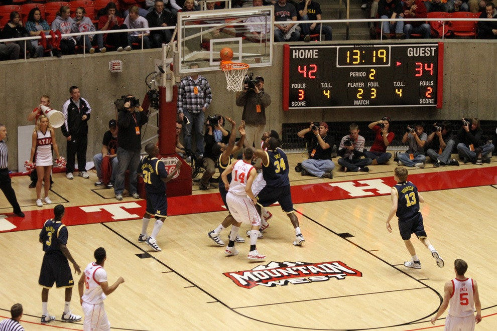 University of Utah Men's Basketball