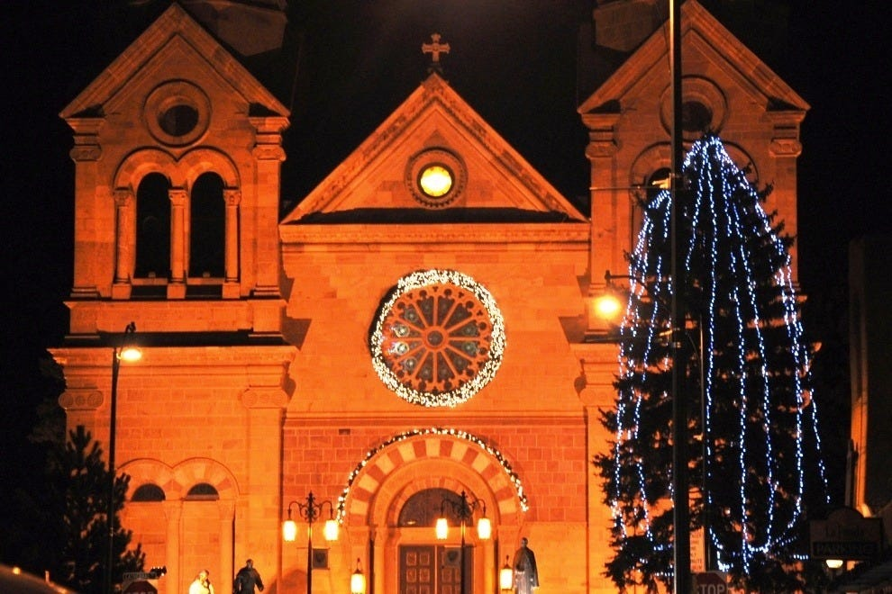 Midnight Mass at the Cathedral Basilica of St. Francis of Assisi