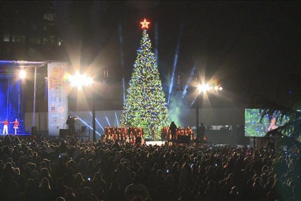 Lighting of Macy's Great Tree