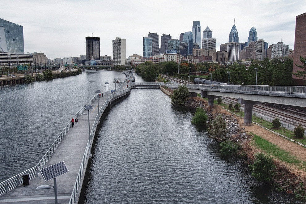 Step out and grab a breath of fresh air on Philadelphia's new boardwalk